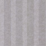 Kandola Empire Stripe Silver Wallpaper