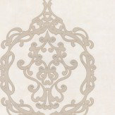 Kandola Sovereign Satin Nickel Wallpaper
