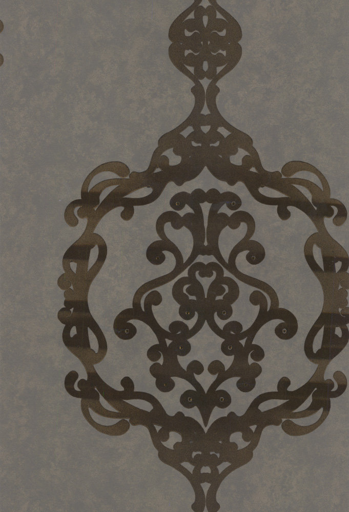 Kandola Sovereign Antique Brass Wallpaper - Product code: W1622/02/001DOR