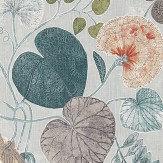 Harlequin Dardanella Seaglass / Russet Fabric - Product code: 120416