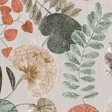 Harlequin Dardanella Amber / Mint Fabric