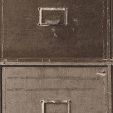 Albany Iron Cabinets Brown Wallpaper - Product code: SD3901