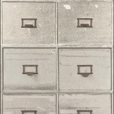 Albany Iron Cabinets Grey Wallpaper - Product code: SD3903