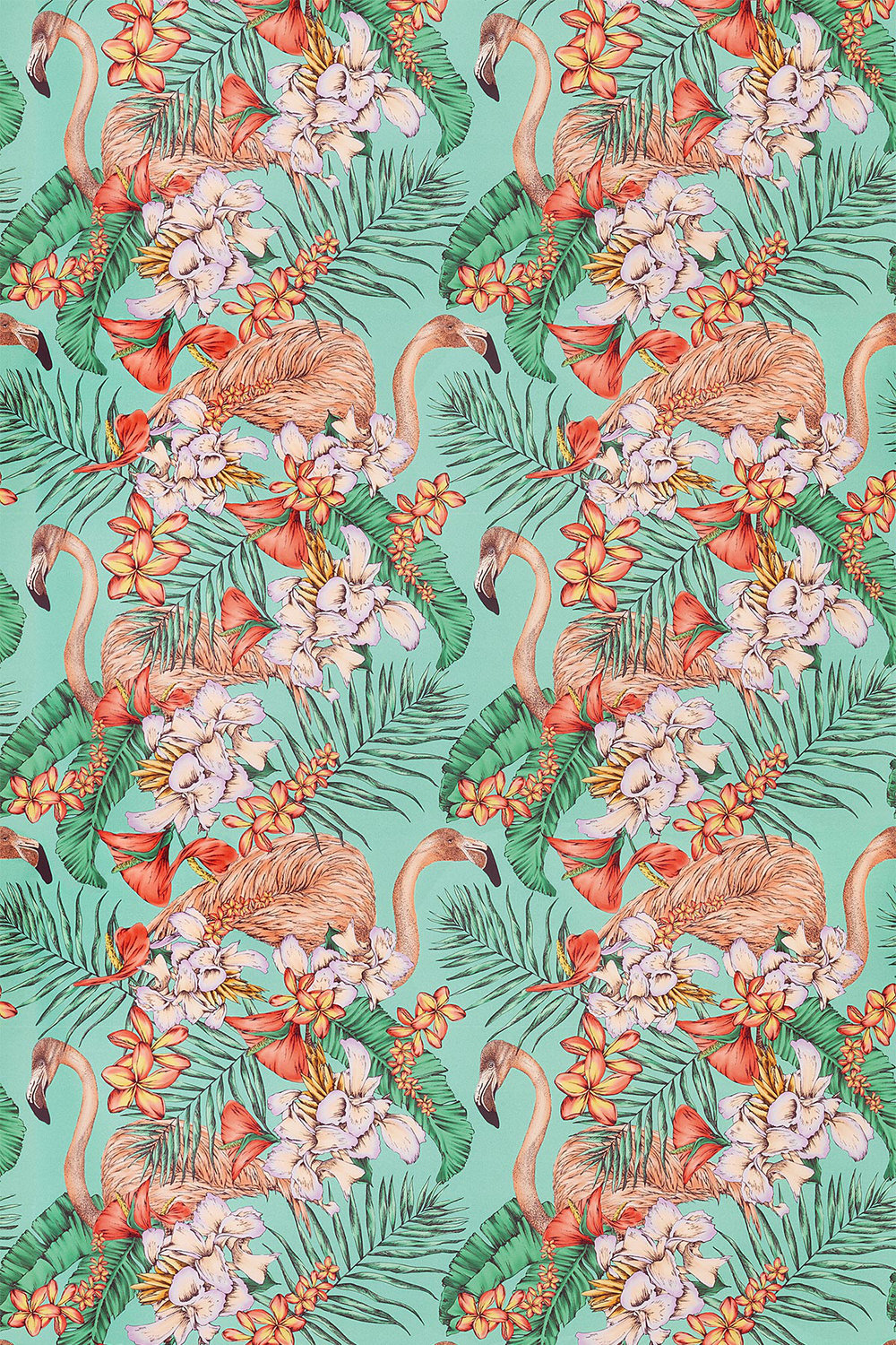Flamingo Club By Matthew Williamson Jade Peach Coral