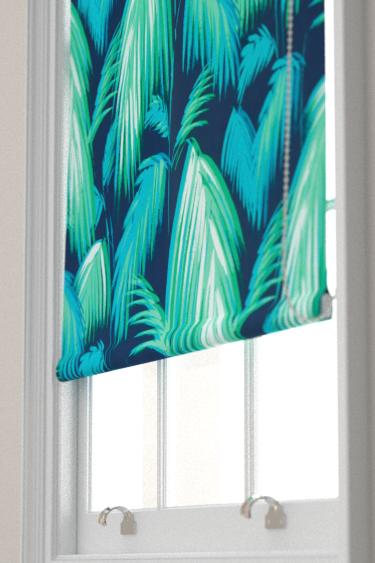 Matthew Williamson Tropicana Petrol, Emerald & Turquoise Blind - Product code: F6791/01