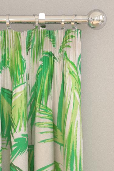 Matthew Williamson Tropicana Grass & Pebble Curtains - Product code: F6791/02