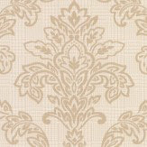 Albany Dogtooth Damask Beige Wallpaper