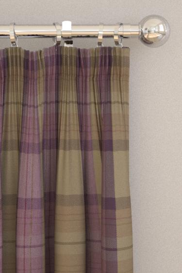 Prestigious Cairngorm Thistle Curtains - Product code: 1703/995