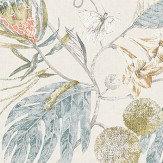 Harlequin Amborella Olive / Seaglass Fabric