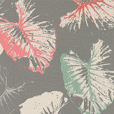 Harlequin Palmetto Coral / Mint Fabric - Product code: 120427
