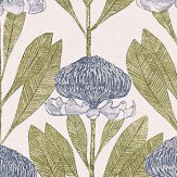 Harlequin Protea Seaglass / Willow Fabric