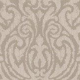 Architects Paper Downton Damask Taupe Wallpaper