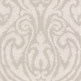 Architects Paper Downton Damask Linen Wallpaper - Product code: 961933