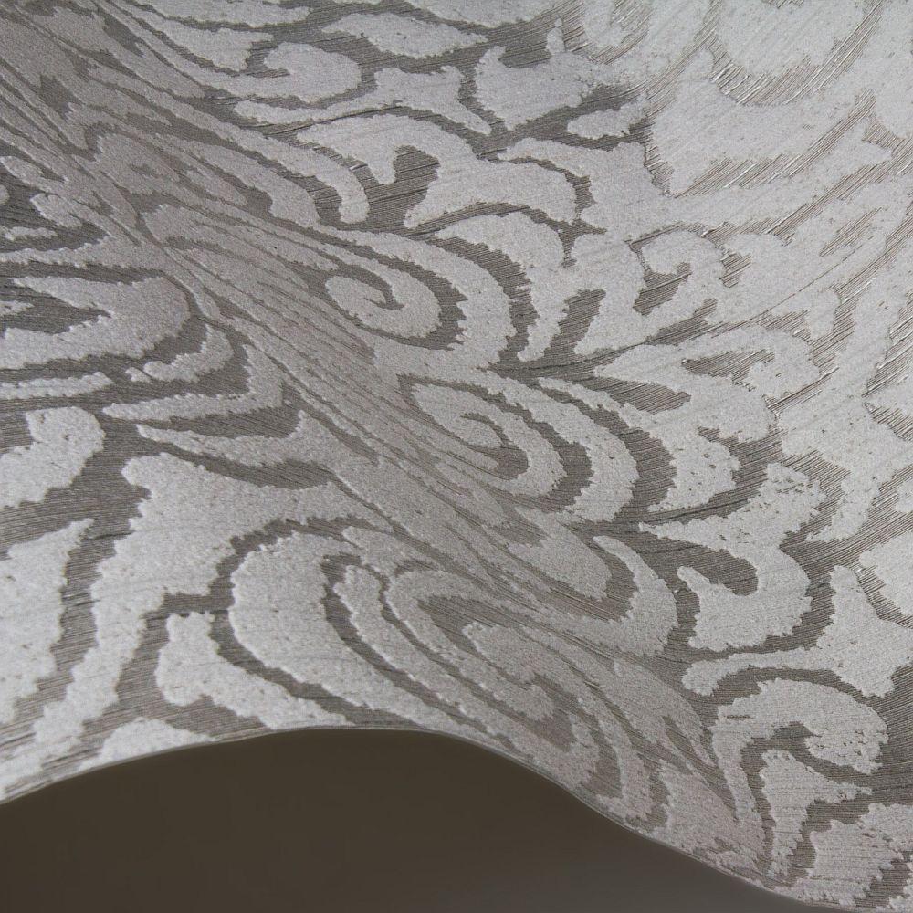 Downton Damask Wallpaper - Linen - by Architects Paper