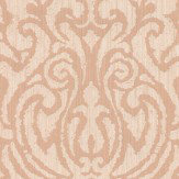 Architects Paper Downton Damask Light Terracotta Wallpaper