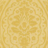Architects Paper Westminster Damask Chartreuse Wallpaper