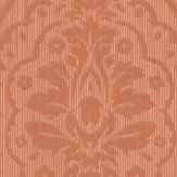Architects Paper Westminster Damask Orange Wallpaper