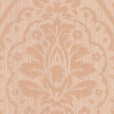 Architects Paper Westminster Damask Light Terracotta Wallpaper
