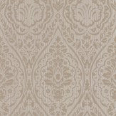 Architects Paper Westminster Damask Taupe Wallpaper