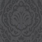 Architects Paper Westminster Damask Black Wallpaper