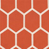 Prestigious Treillage Tangerine Fabric