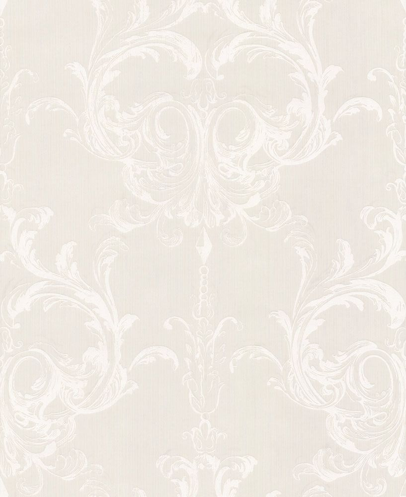 Architects Paper Blenheim Damask Cream Wallpaper main image