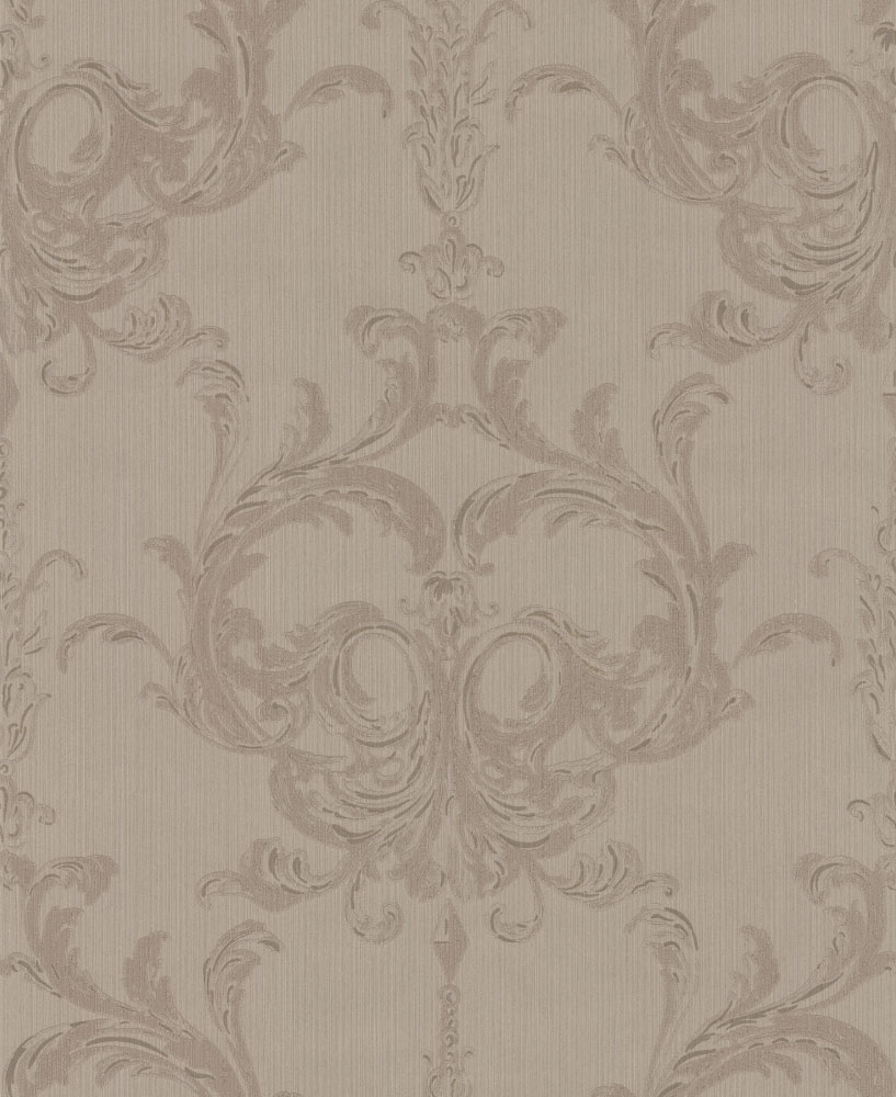 Architects Paper Blenheim Damask Taupe Wallpaper main image