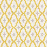 Architects Paper Windsor Diamond Chartreuse Wallpaper
