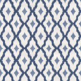 Architects Paper Windsor Diamond Midnight Blue Wallpaper - Product code: 961974
