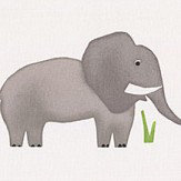 Prestigious Jumbo Elephant Grey Fabric - Product code: 5724/942