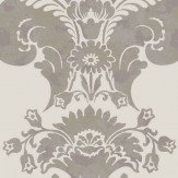 Cole & Son Baudelaire Grey Wallpaper