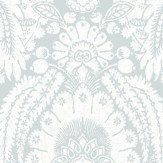 Cole & Son Chatterton Soft Blue Wallpaper
