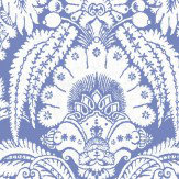 Cole & Son Chatterton Blue Wallpaper