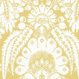 Cole & Son Chatterton Yellow  Wallpaper