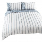 iliv Henley Bird Garden King Size Duvet Set Denim Duvet Cover