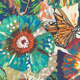 Prestigious Tropical Garden Rainforest Fabric - Product code: 8569/675