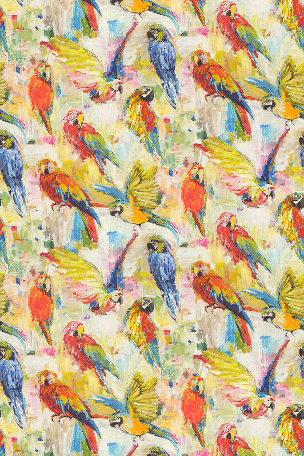 Prestigious Macaw Tropical Fabric - Product code: 8570/522
