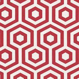 Prestigious Hex Flame Fabric