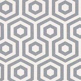 Prestigious Hex Stone Grey Fabric