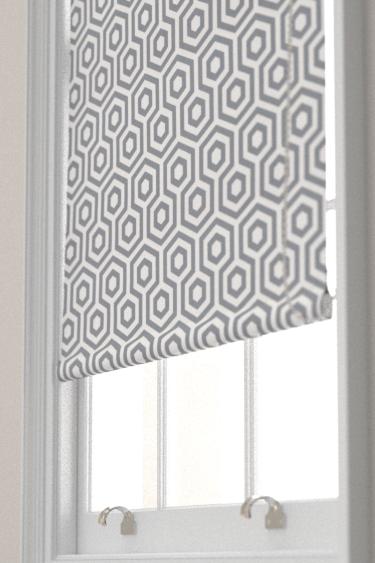 Hex By Prestigious Stone Grey Fabric Wallpaper Direct