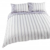 iliv Henley Bird Garden Super King Duvet Set Lavender Duvet Cover