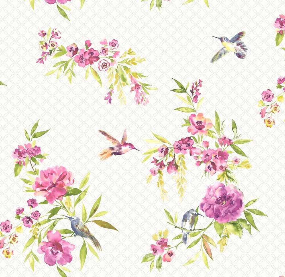Holden Decor Amaya Lime & Pink Wallpaper - Product code: 11482