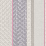 Holden Decor Amaya Stripe Heather & Grey Wallpaper - Product code: 11491