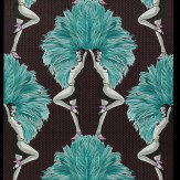 Graduate Collection Showgirls  Blue Wallpaper - Product code: MS1SGWALBLU