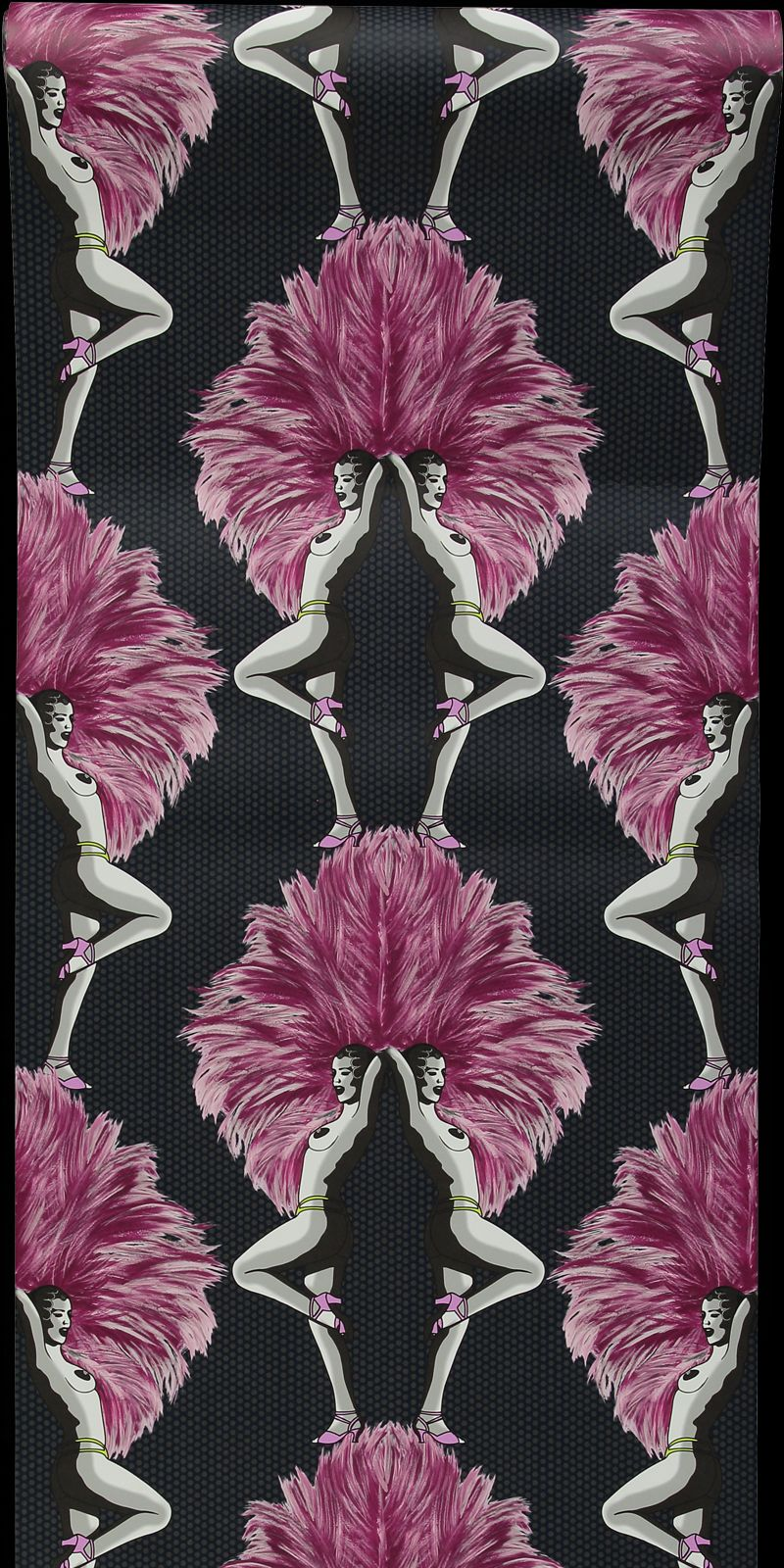 Showgirls  Wallpaper - Pink - by Graduate Collection