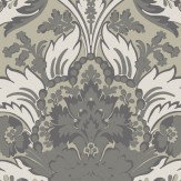 Cole & Son Aldwych Silver Wallpaper