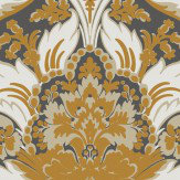 Cole & Son Aldwych Black and Gold Wallpaper