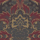 Cole & Son Aldwych Red / Gold Wallpaper