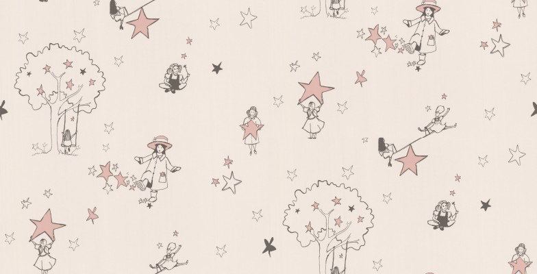 Image of Katie Bourne Interiors Wallpapers Catch a Star, G1 Catch