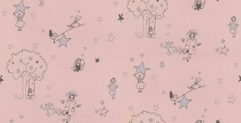 Image of Katie Bourne Interiors Wallpapers Catch a Star, G5 Catch